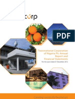 Transcorp PLC 2012 Annual Report