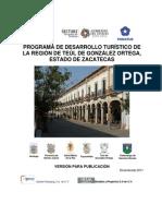 Programa de Desarrollo Turistico Region Teul