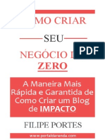 Como Criar Um Blog de Impacto