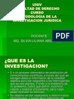 Metodologia de La Investigacion Juridica Ppt Uigv