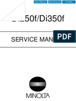 Minolta Di250-350f Service Manual