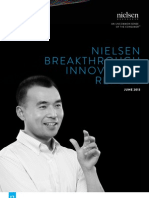 2013 Nielsen Breakthrough Innovation Report