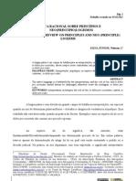 CRÍTICA RACIONAL SOBRE PRINCÍPIOS E NEO(PRINCIPIO)LOGISMOS - SILVA JR., Nelmon J.
