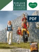 Wanderurlaub Mit Der Familie
