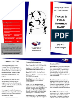 Liberty Track Summer Camp 2013(Brochure)
