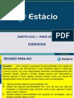 2012.1 revisão av2  exercicios
