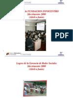 Documento 227 Logros Fundacion Infocentro 2do Trimestre 2008
