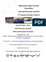 2nd Annual Corvette Cruise In