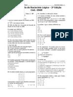 Complemento de Raciocínio Lógico - 2ª Edição-20061207
