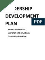 Leadership Development Plan Final