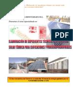Curso Elaboracion Expedientes Solar Termica Primera Edicion
