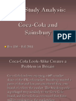 Case Study Analysis - Coca Cola Case