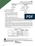 3-Terminal, 100mA Adjustable Positive Voltage Regulator