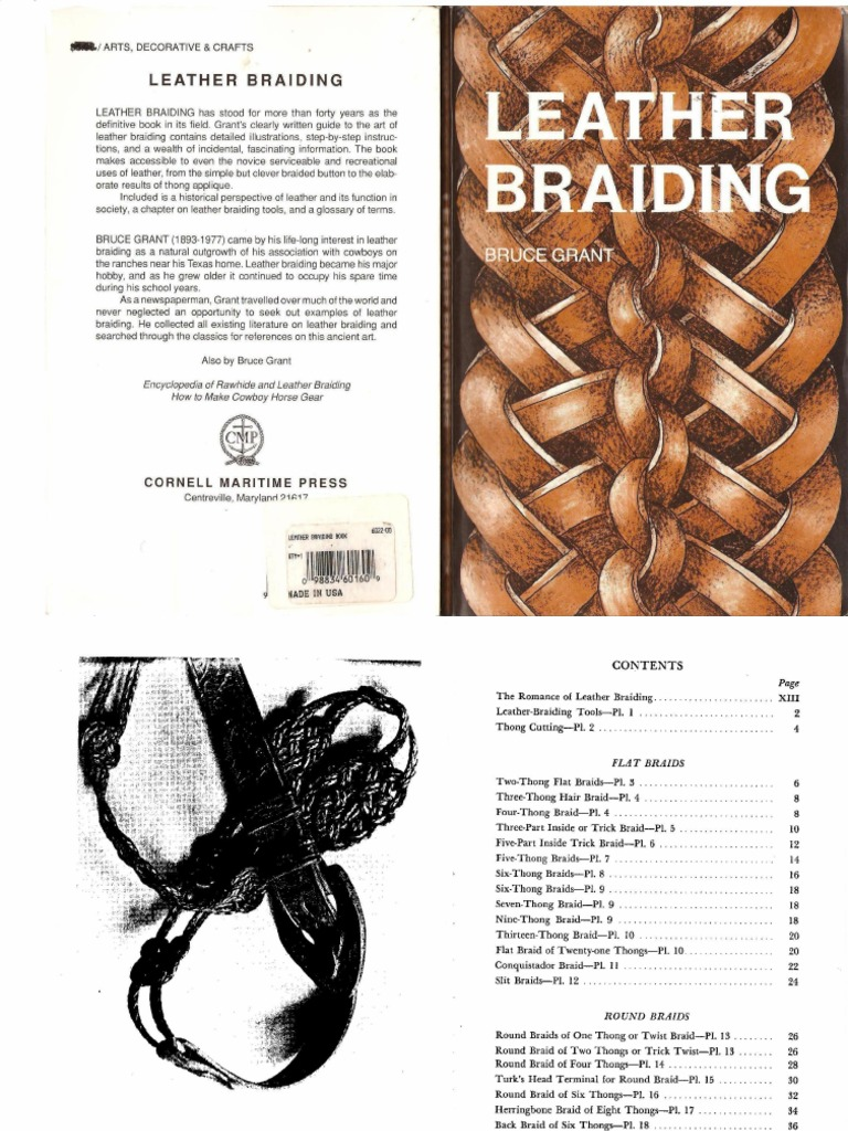 Encyclopedia Of Rawhide And Leather Braiding By Bruce Grant Epub Download