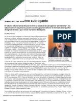Página_12 __ El país __ Cabral, el eterno subrogante
