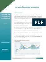Informe de coyuntura económica - JUN2013