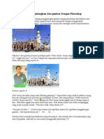 Trik Menggabungkan Dua gambar Dengan Photoshop.doc