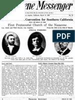 Nazarene Messenger - March 12, 1908