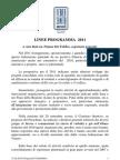 Linee programma 2011