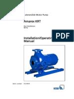 Amarex KRT, Submersible Motor Pump 60 Hz