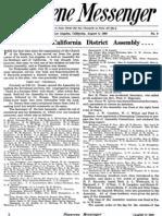 Nazarene Messenger - August 6, 1908