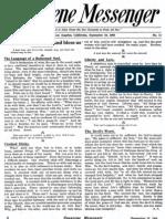 Nazarene Messenger - September 10, 1908