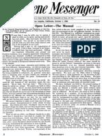 Nazarene Messenger - October 1, 1908