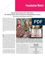 Racial Separatism in the Aloha State: