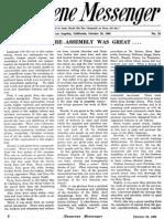 Nazarene Messenger - October 29, 1908