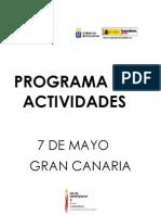 Programa de Actividades Día del Emprendedor