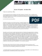 La lógica de El Capital (Alain Bihr)