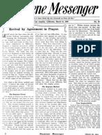 Nazarene Messenger - March 18, 1909