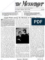 Nazarene Messenger - April 15, 1909
