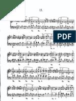 Heller-Etude Opus 47 Nr. 13