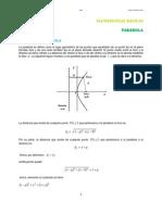 22. Parabola