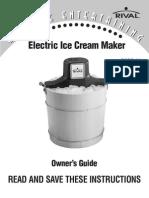 Rival Ice Cream Maker 8550