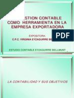 Gestion Contable en Empresa Exportadora