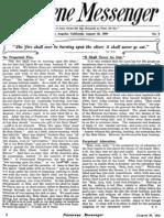 Nazarene Messenger - August 26, 1909