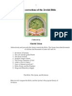 Quranic Corrections of the Jewish Bible