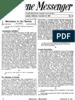 Nazarene Messenger - September 16, 1909