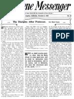 Nazarene Messenger - December 2, 1909