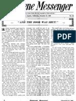 Nazarene Messenger - December 16, 1909