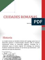 CIUDADES ROMANAS