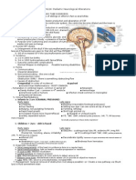N124 - Pediatric Neurological Alterations