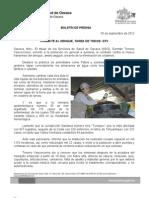 05/09/12 Germán Tenorio Vasconcelos combate Al Dengue, Tarea de Todos