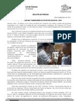 06/09/12 Germán Tenorio Vasconcelos cerca de 145 Mil Fumadores Activos en Oaxaca, Sso