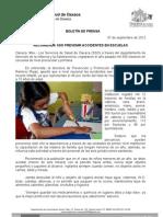 07/09/12 Germán Tenorio Vasconcelos recomienda Sso Prevenir Accidentes en Las Escuelas