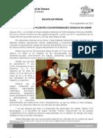 14/09/12 Germán Tenorio Vasconcelos ATENCIÓN INTEGRAL A PACIENTES CON ENFERMEDADES CRÓNICAS EN UNEME