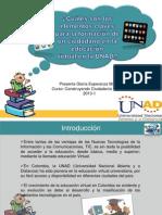 Elementos claves para la formación de un ciudadano en la mediación virtual en la UNAD