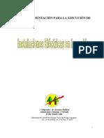 Reglamento de Instalaciones Eléctricas.